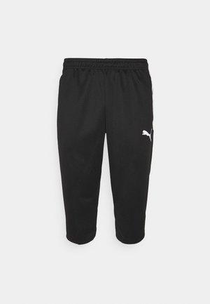 TEAMLIGA TRAINING PANTS - Urheilucaprit - black/white