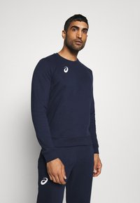 ASICS - MAN SUIT - Tracksuit - strong navy - 3