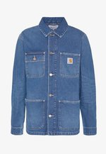 MICHIGAN CHORE NORCO - Denim jacket - blue mid worn wash