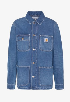 MICHIGAN CHORE NORCO - Jeansjacke - blue mid worn wash
