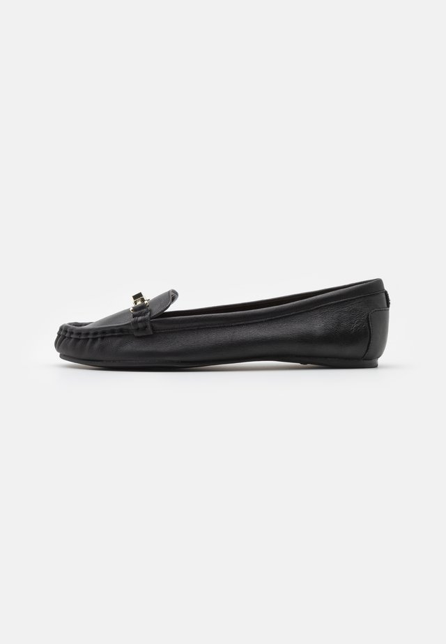 GEORGAS - Loafers - black
