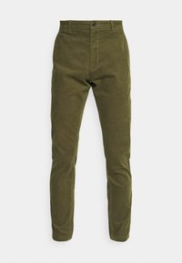 CROPPED PANTS - Trousers - army
