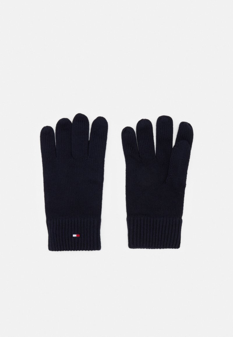 Tommy Hilfiger - GLOVES - Gloves - blue