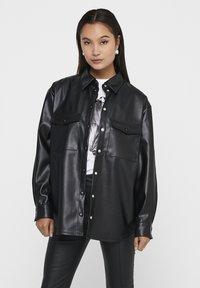 ONLY - ONLRUMA  - Button-down blouse - black - 0
