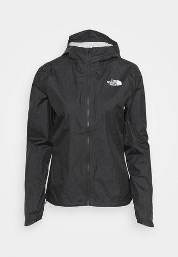 FIRST DAWN PACKABLE JACKET - Hardshell jacket - black