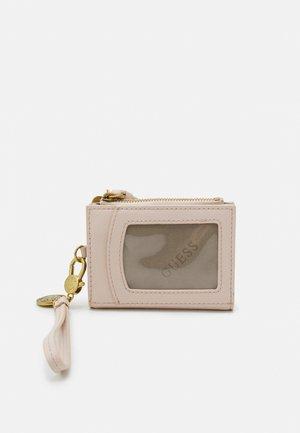 CARD CASE KEYRING - Lompakko - blush