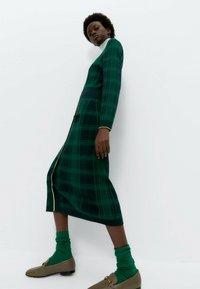 Uterqüe - Jumper dress - green - 3
