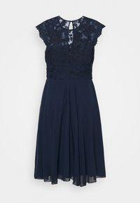 Chi Chi London Curvy - HELENE DRESS - Cocktail dress / Party dress - navy - 1