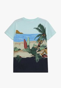 Scotch & Soda - TEE WITH ALL OVER PLACED PRINT - T-shirt med print - multi-coloured - 1