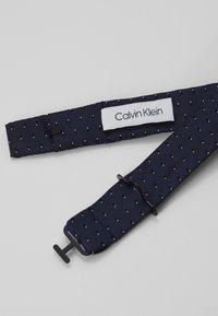 Calvin Klein - SHADOW DOT BOWTIE - Bow tie - navy - 3