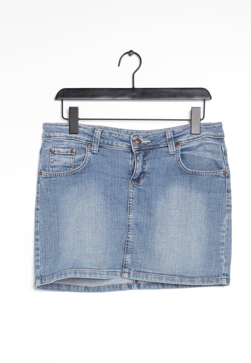 G-Star - Spódnica jeansowa - blue