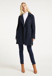 DreiMaster - Classic coat - marine - 1