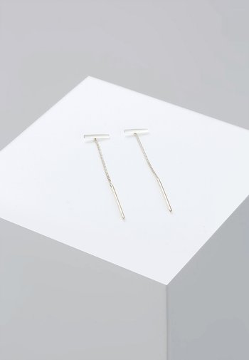 STICK TREND - Earrings - silver-coloured