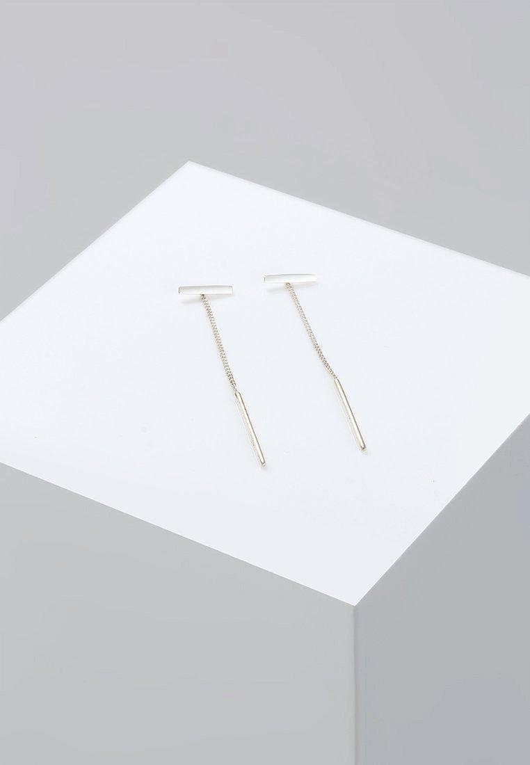 Elli - STICK TREND - Earrings - silver-coloured