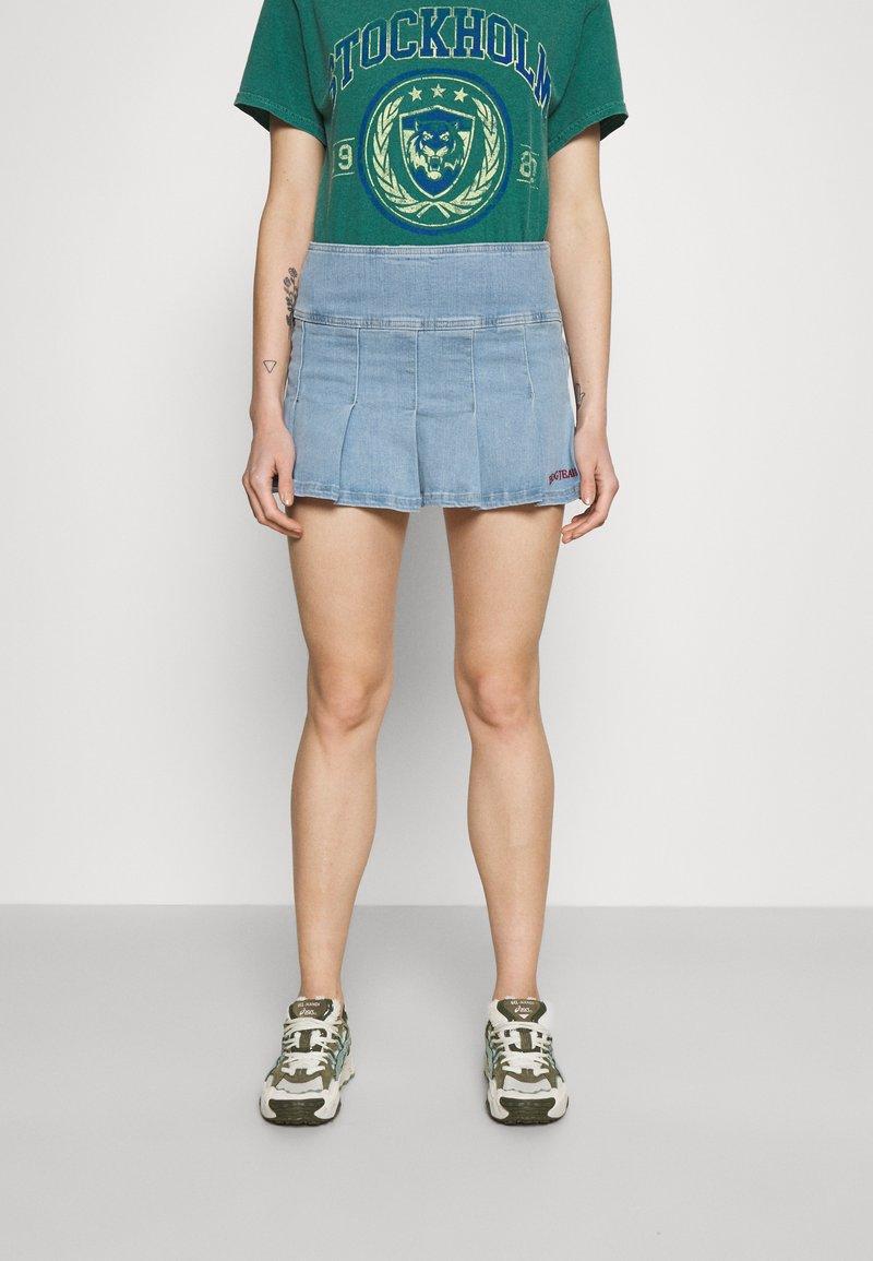 BDG Urban Outfitters - MINI KILT SKIRT - Minijupe - summer bleach