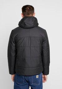 adidas Originals - ADICOLOR THIN PADDED BOMBERJACKET - Vinterjakker - black - 2