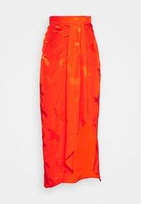 River Island - A-line skirt - orange - 3