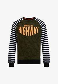 WE Fashion - Long sleeved top - dark green - 0