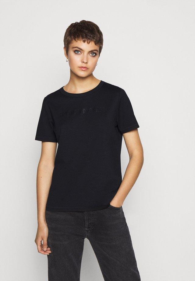 ANISIA - T-shirt con stampa - schwarz
