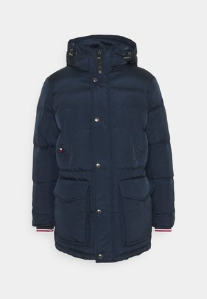 Down coat - blue