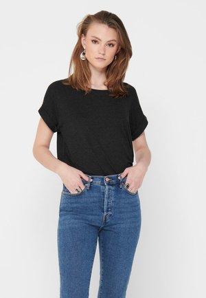 ONLMOSTER ONECK - Basic T-shirt - dark grey melange