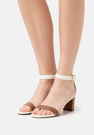 WAVERLI - Sandals - deep saddle tan