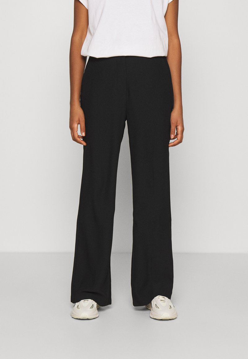 Nly by Nelly - SHAPED SUIT PANTS - Kalhoty - black