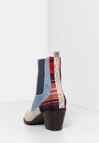 Desigual - Classic ankle boots - blue - 4