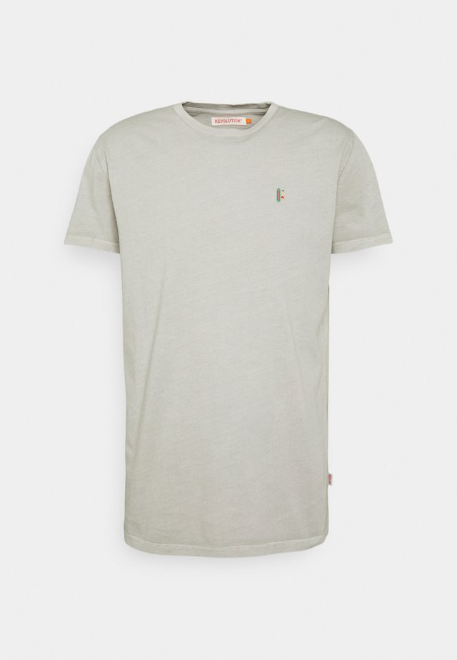REGULAR - T-shirt con stampa - lightgreen
