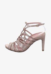 Tamaris - High heeled sandals - gold - 0