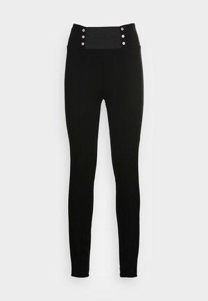 PANT LUNGO - Leggings - Trousers - nero