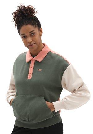 WM DYLAN POLO FLEECE - Polo shirt - thyme