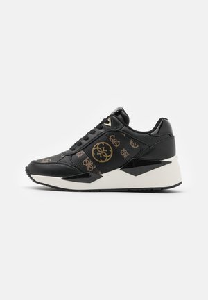 TESHA - Sneakers basse - bronze/black
