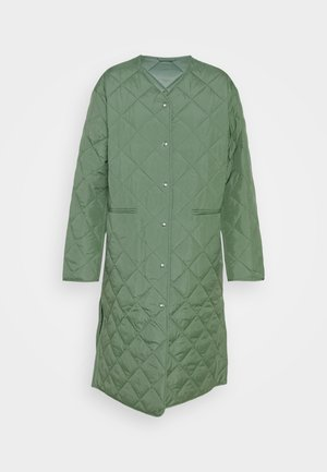 COAT - Classic coat - green medium dusty