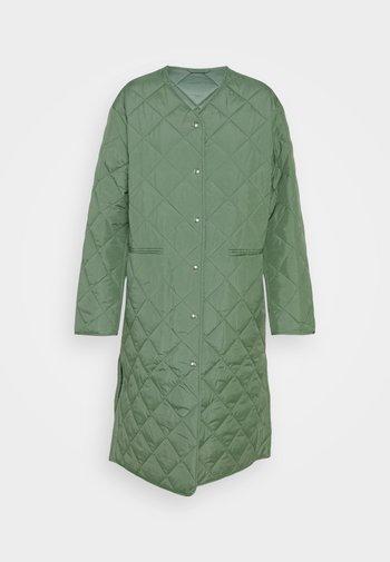 COAT - Cappotto classico - green medium dusty