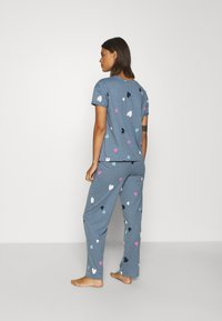 Marks & Spencer London - HEART  - Pyjamas - blue mix - 2