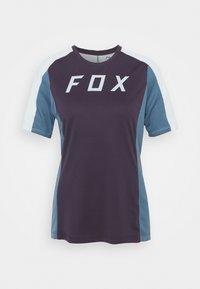 Fox Racing - DEFEND - T-shirt z nadrukiem - dark purple - 0