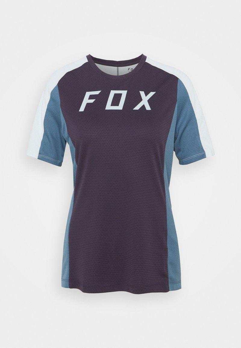 Fox Racing - DEFEND - T-shirt z nadrukiem - dark purple