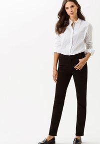 BRAX - CAROLA - Slim fit jeans - black - 0
