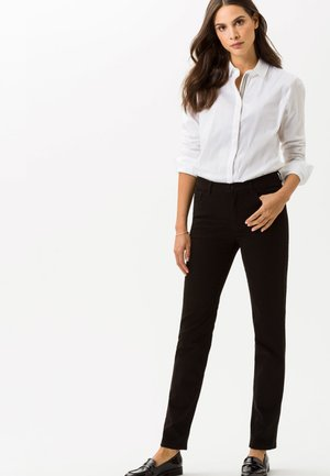 CAROLA - Slim fit jeans - black