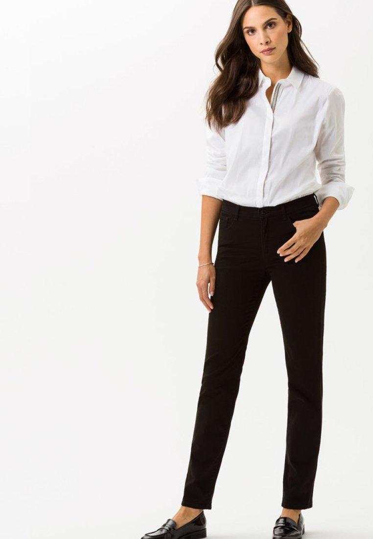 BRAX - CAROLA - Slim fit jeans - black
