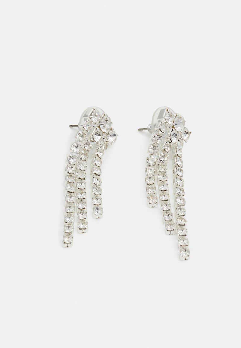 Pilgrim - EARRINGS PETRA - Earrings - silver-coloured