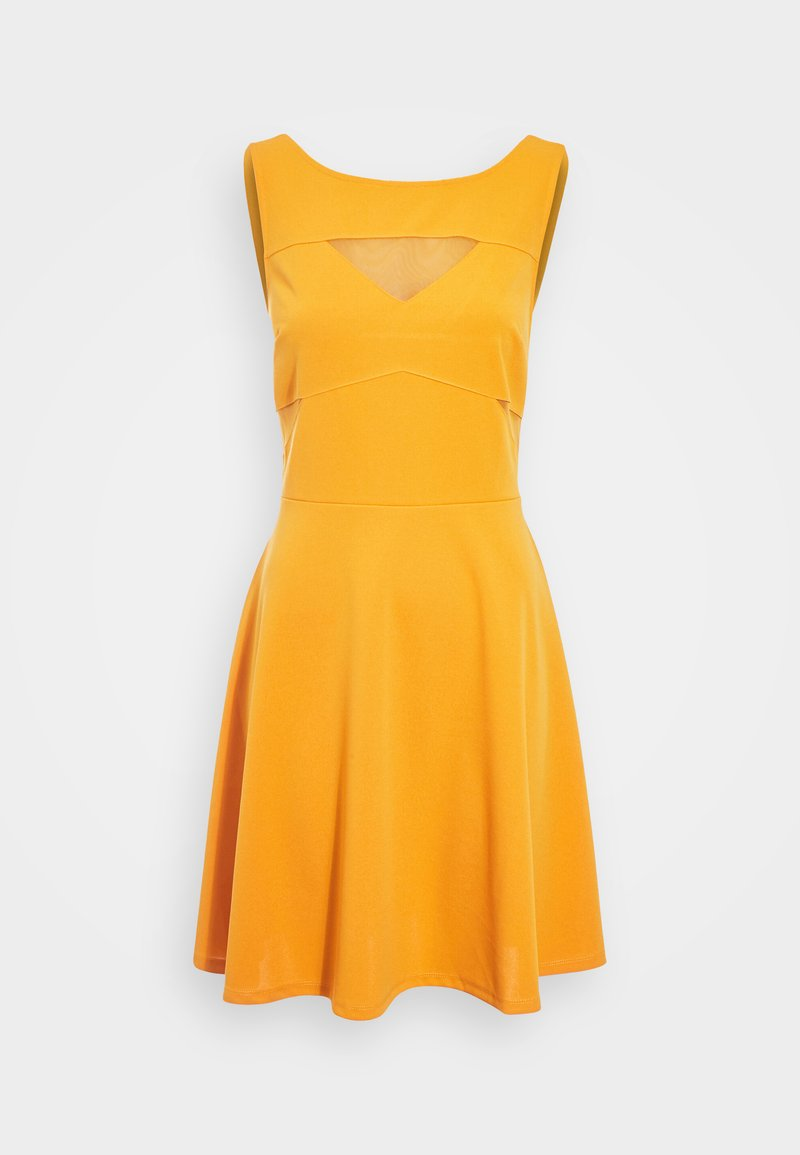 Cache Cache - Korte jurk - jaune foncé