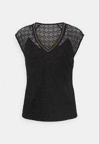 Morgan - DELAN - Print T-shirt - noir - 0