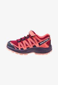 Salomon - XA PRO 3D - Hiking shoes - cerise/acai/bird of paradise - 1