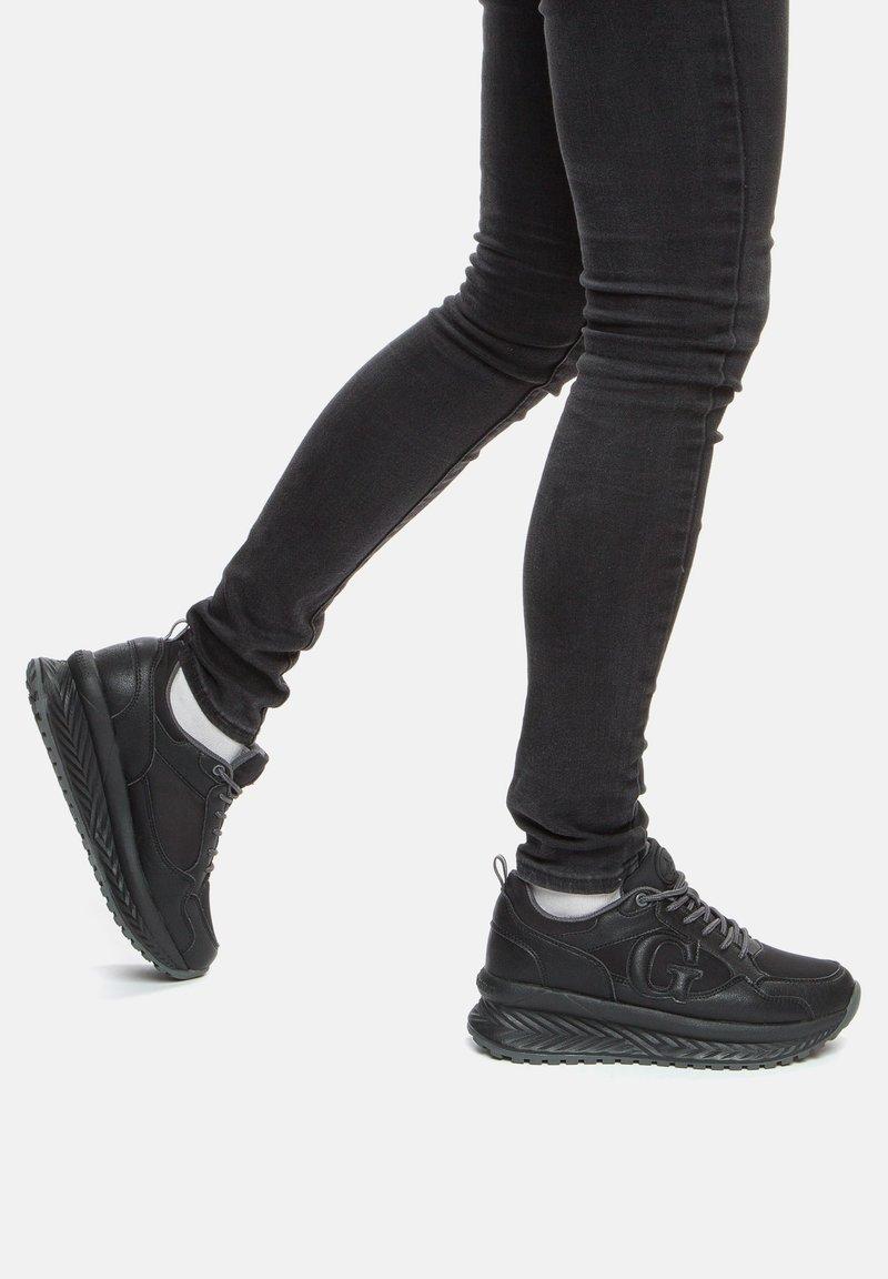 GRÜNBERG - Trainers - black