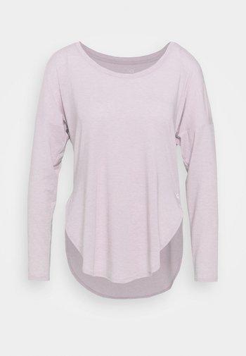 BREATHE - Long sleeved top - pale plum