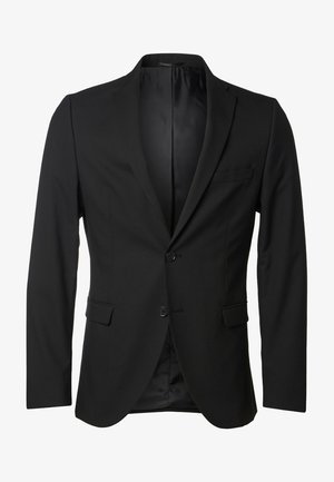 SLIM FIT - Chaqueta de traje - black