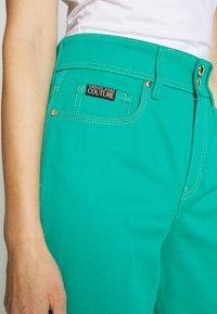 Versace Jeans Couture - LADY TROUSER - Džíny Straight Fit - pure mint - 5