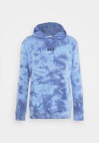 GAP - MINI LOGO - Hoodie - blue tie dye - 5